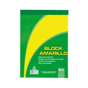 Papelería Tauro - Block amarillo